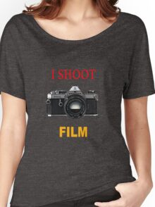 I Shoot Film Women's Relaxed Fit T-Shirt