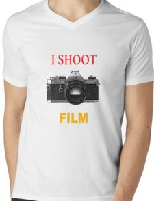 I Shoot Film Mens V-Neck T-Shirt