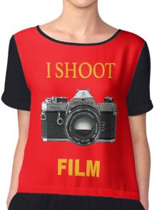 I Shoot Film Chiffon Top
