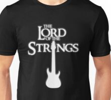 Lord of the Strings (white) Unisex T-Shirt