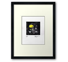 Proof/Test (yellow and green) 2014 Framed Print