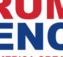 Trump Pence - Make America Great Again Sticker