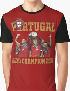 Portugal Champion 2016 Graphic T-Shirt
