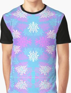 Pattern in Blue, Pink, and Purple Graphic T-Shirt