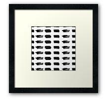 Grungy pattern 4 Framed Print