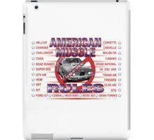 American Muscle Rules • Screw BMW! iPad Case/Skin