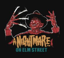 A Nightmare on Elm Street NES by Griffin Laking