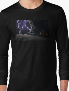 Cat Lightning  Long Sleeve T-Shirt
