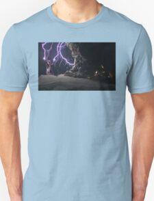 Cat Lightning  Unisex T-Shirt