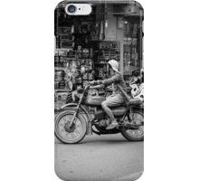 Banking in Vietnam (motorbike style) iPhone Case/Skin