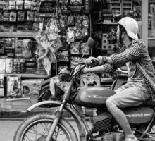 Banking in Vietnam (motorbike style) Sticker