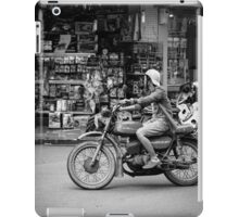 Banking in Vietnam (motorbike style) iPad Case/Skin