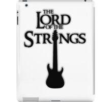 Lord of the Strings (black) iPad Case/Skin