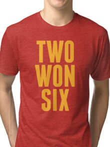 Cleveland Cavaliers Champions Two Won Six  Tri-blend T-Shirt