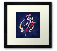 Sailor Moon alien. Framed Print