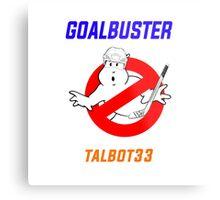 Edmonton Oilers Cam Talbot Goalbuster Ghostbusters Metal Print