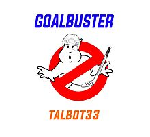 Edmonton Oilers Cam Talbot Goalbuster Ghostbusters Photographic Print