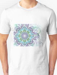 Flower - Abstract Fractal Artwork Unisex T-Shirt