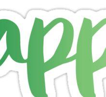 sigma green Sticker