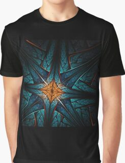 Cross - Abstract Fractal Artwork Graphic T-Shirt