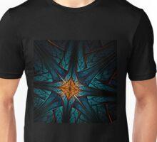 Cross - Abstract Fractal Artwork Unisex T-Shirt