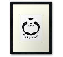RareSloth Games Framed Print