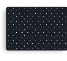 CONTROL DOTS Canvas Print