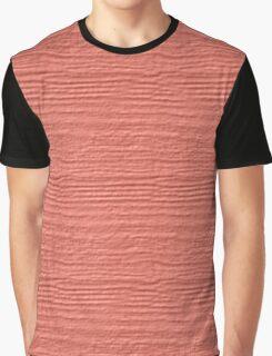Desert Flower Wood Grain Texture Graphic T-Shirt