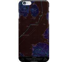 USGS TOPO Map Alaska AK Craig D-1 355312 2000 63360 Inverted iPhone Case/Skin