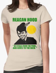 REAGAN HOOD Womens Fitted T-Shirt