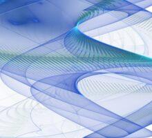 DNA - Abstract Fractal Artwork Sticker