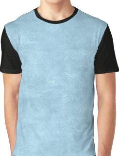 Aquamarine Oil Pastel Color Accent Graphic T-Shirt