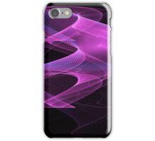 Purple Spiral - Abstract Fractal Artwork iPhone Case/Skin