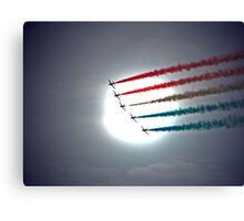 Arrows Into The Sun Canvas Print