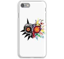 Majora's Mask Pixel Scatter iPhone Case/Skin