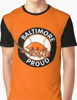 Baltimore Proud Baseball Graphic T-Shirt