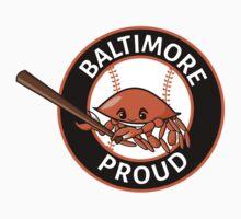 Baltimore Proud Baseball One Piece - Short Sleeve