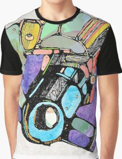 Abstract Colour Photography Graphic T-Shirt
