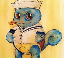 Squirtle the Sailor by Jayne Whitaker