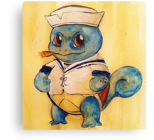 Squirtle the Sailor Canvas Print