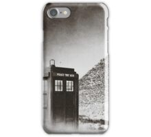 Tardis - Pit-stop   iPhone Case/Skin
