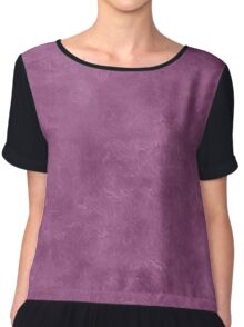 Amethyst Oil Pastel Color Accent Chiffon Top