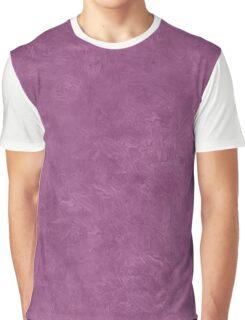 Amethyst Oil Pastel Color Accent Graphic T-Shirt
