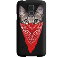 Gangster Cat Samsung Galaxy Case/Skin
