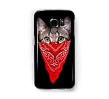 Gangster Cat Samsung Galaxy Case/Skin