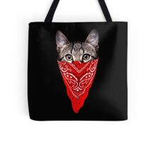 Gangster Cat Tote Bag