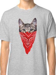Gangster Cat Classic T-Shirt