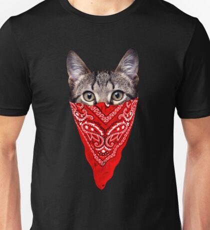 Gangster Cat Unisex T-Shirt