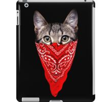 Gangster Cat iPad Case/Skin