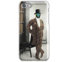 Mr. Fancy Pants Jr. iPhone Case/Skin